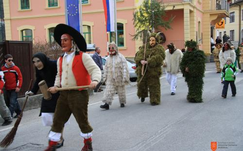 Shrovetide custom in Cerkno.