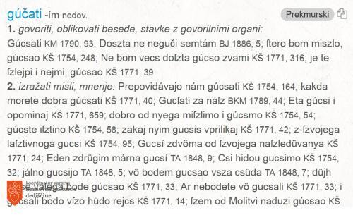 Prekmurščina.