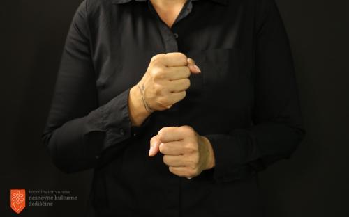 Slovenski znakovni jezik.
