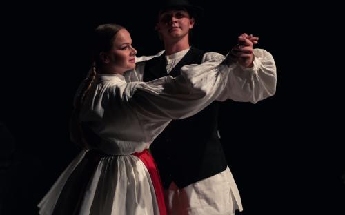 Plesanje šamarjanke.