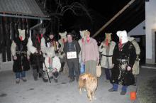 Neformalno organizirana fantovska skupnost - Stara Fužina. Foto: Tatjana Dolžan Eržen, 2011.