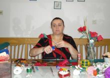 Anita Matkovič. Foto: A. Matkovič, 2012.
