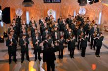 Kulturno društvo Pihalni orkester Kapéle. Foto: Ivan Urek, 2010.