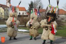 Kulturno, turistično in etnografsko društvo korantov demoni. Foto: Borut Drevenšek, 2013.