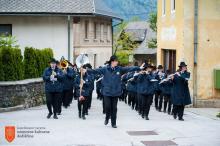 Kulturno društvo Pihalni orkester Jesenice - Kranjska Gora. Foto: N. Bertoncelj, 2017