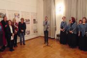 Odprtje razstave. Foto: Društvo Slovencev Triglav Banjaluka, 2019