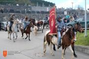 Blagoslov konj v Stranjah. Foto: A. Jerin, 2018