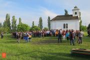 Udeleženci odprtja Binkoštnega festivala. Foto: Anja Jerin, 2016.