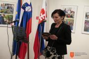 Nagovor slovenske veleposlanice v Bratislavi Bernarde Gradišnik. Foto: J. Rus, 2017.